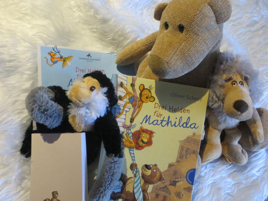 Drei Helden für Mathilda Oliver Scherz