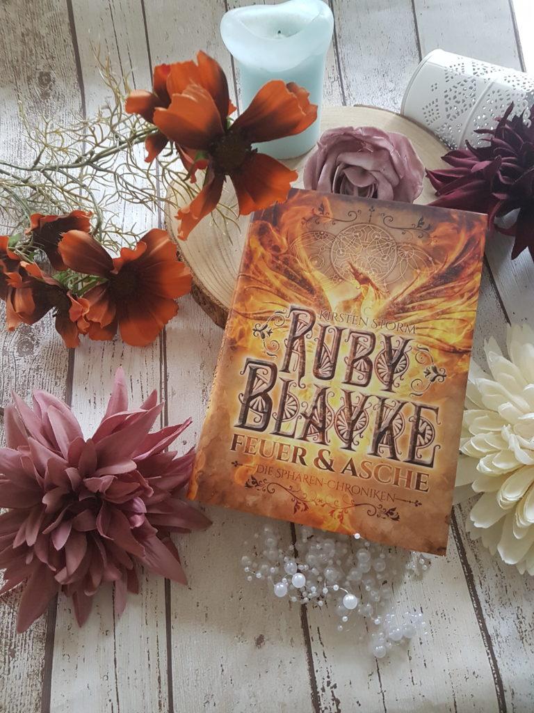 Ruby Blayke Feuer und Asche von Kirsten Storm